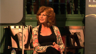 Rula Lenska at Chiswick Book Festival