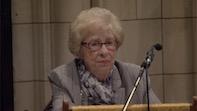 Eva Schloss, Anne Frank's Stepsister Visits Chiswick