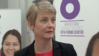 Yvette Cooper visits Brentford School for Girls