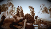 The Ruby Dolls Bring A Warm Glow To Watermans