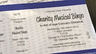 Musical Bingo in Aid of Age Concern Chiswick