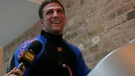Alex Reid Talks Cage Fighting at Chiswick's Hypoxi