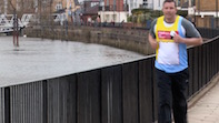 Chiswick's Mark James runs for Children's Cancer Charity