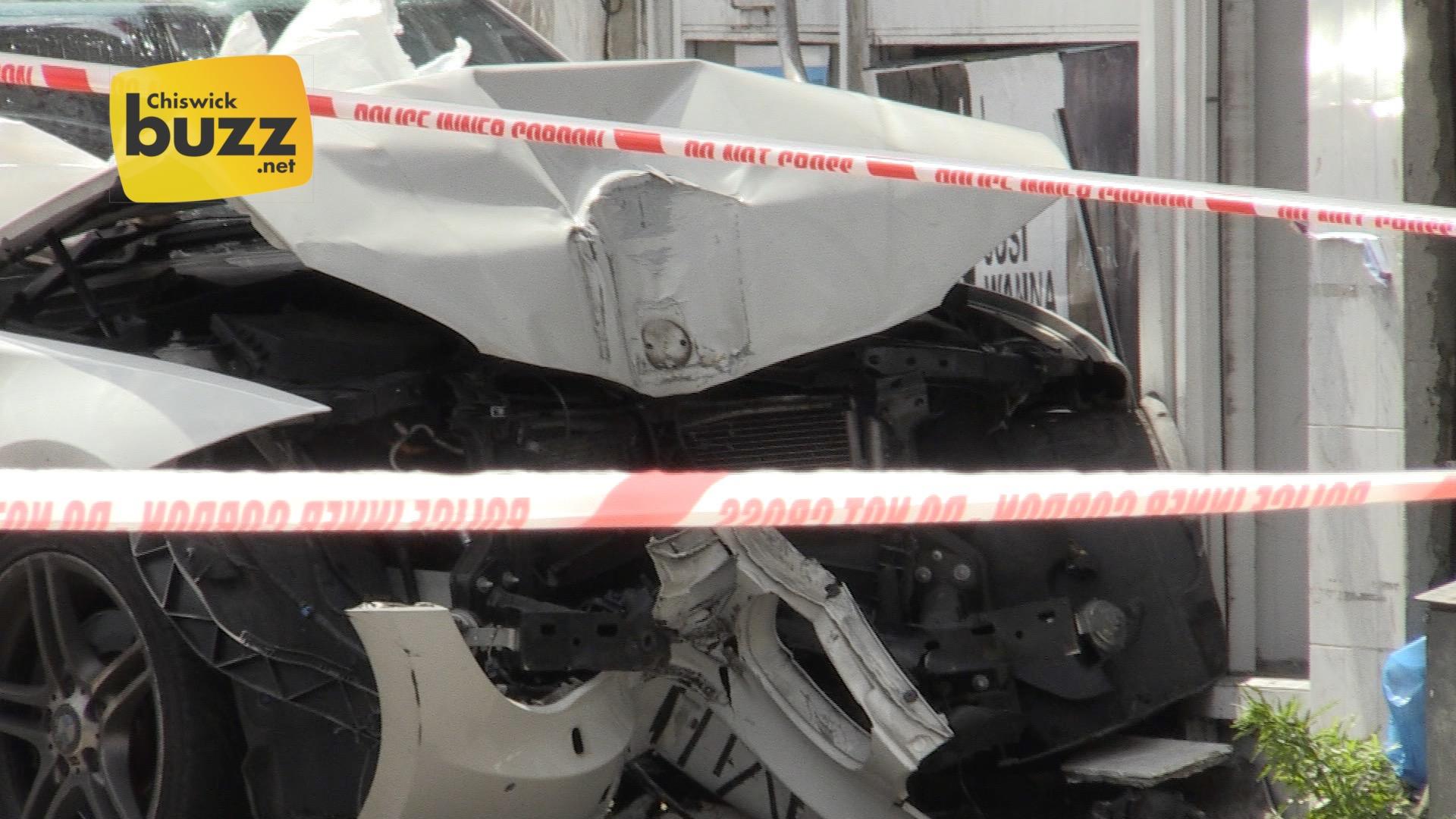 CU crashed car 01