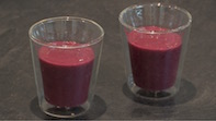 Bridget Brocklebank's Spinach & Berry Smoothie