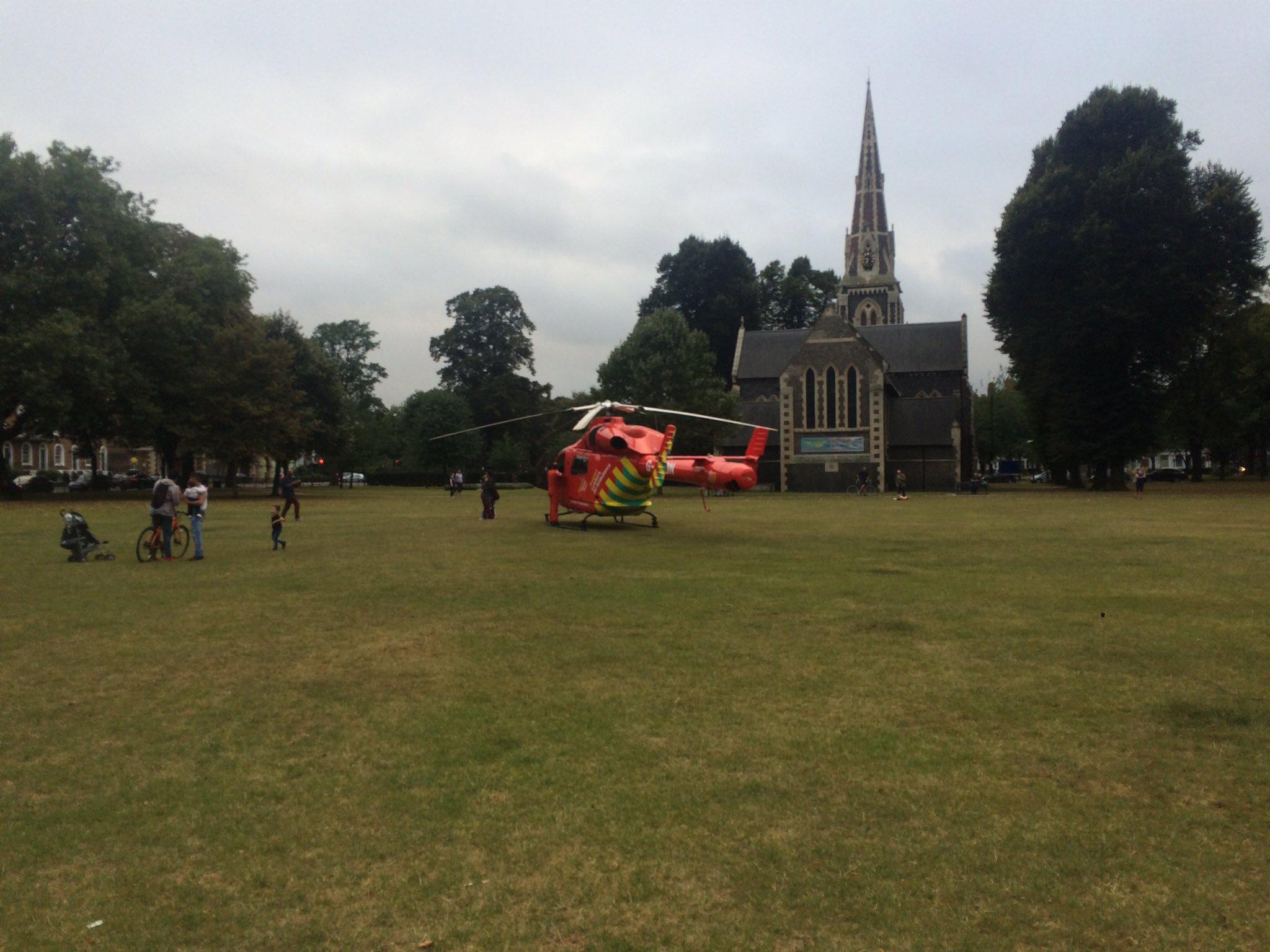 Stabbing air ambulance large