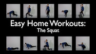 Easy Home Workouts – The Squat