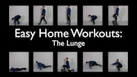 Easy Home Workouts – The Lunge