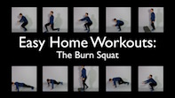 Easy Home Workouts – The Burn Squat
