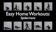 Easy Home Workouts – Spiderman's