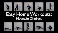 Easy Home Workouts – Mountain Climbers