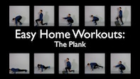 Easy Home Workouts – The Plank