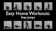 Easy Home Workouts – Step Jumps