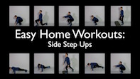 Easy Home Workouts – Side Step Ups