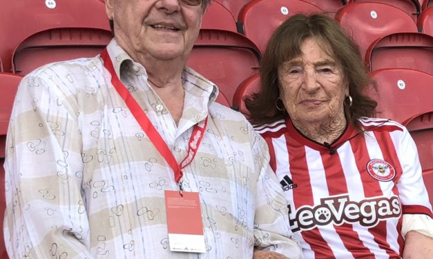 Queen Bee Audrey takes the first Premium Seat at Brentford Community Stadium