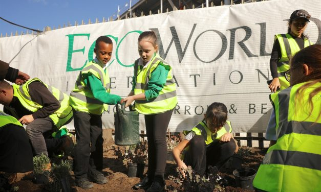 EcoWorld London encourages local school children to get green-fingered at Verdo-Kew Bridge