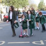 Chiswick's Car Free Friday At St Mary's
