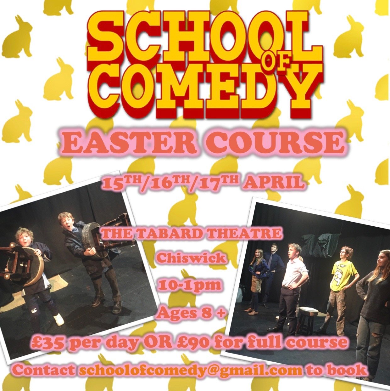 School Of Comedy Easter Course 2019