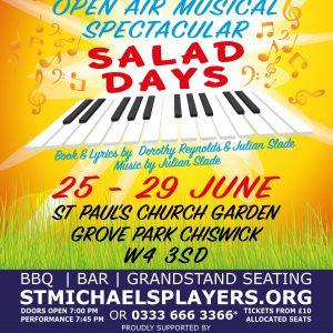 Spectacular Open-Air Musical SALAD DAYS