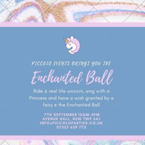 Enchanted Unicorn Ball