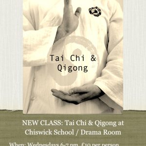 Tai Chi & Qigong at Chiswick School