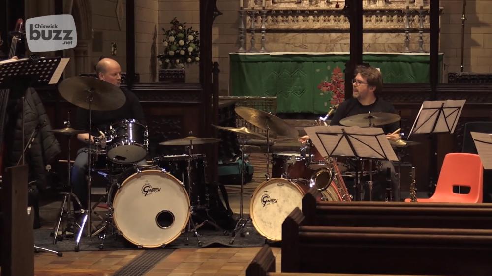 Rebel Yell Jazz Orchestra Return to Chiswick