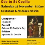 Hogarth Singers' Autumn concert