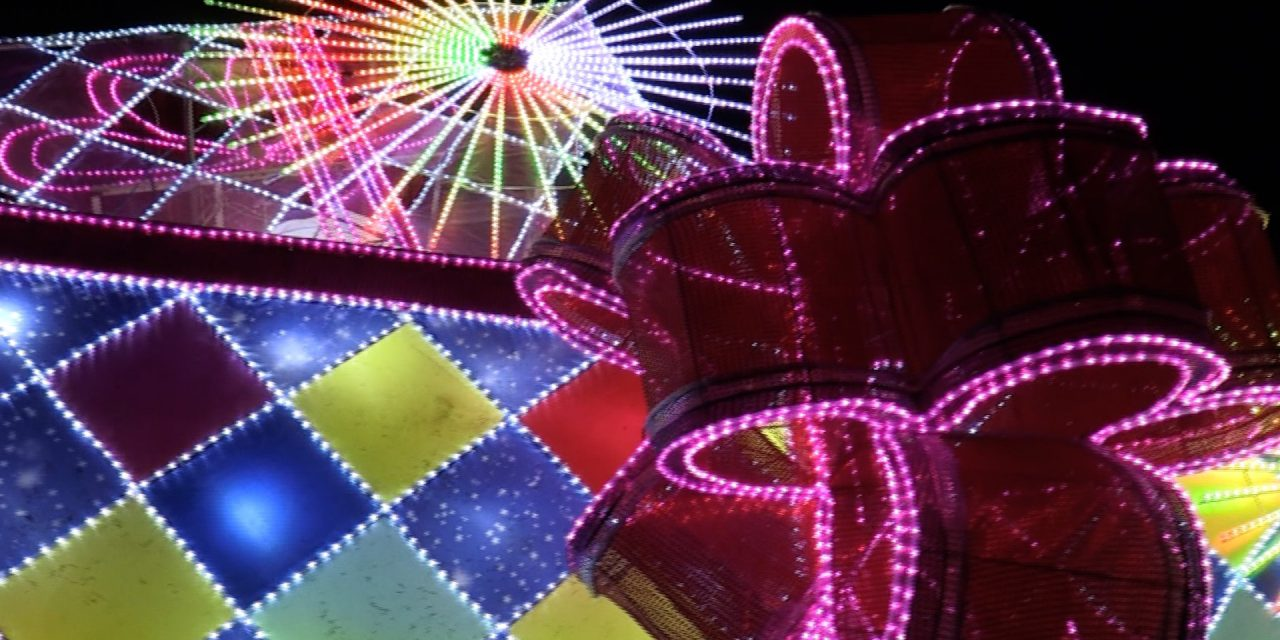 Lightopia Brings A Blaze Of Colour To Chiswick