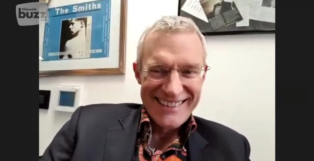 Jeremy Vine Discusses Chiswick Family Life During the COVID-19 Crisis