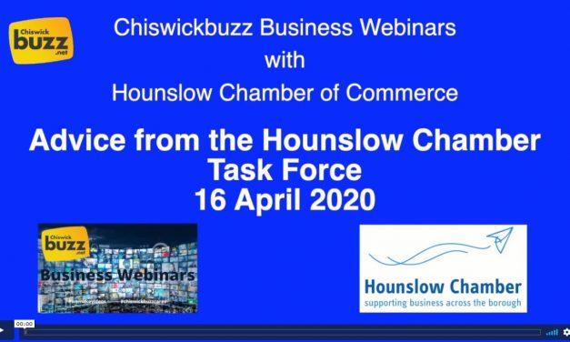Advice From Hounslow Chamber Task Force – 16 April 2020