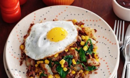 Store Cupboard Hash with a Dash of Flexibility