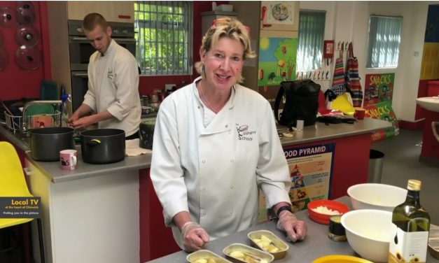 Kids Cookery School Supports The Community