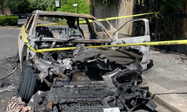 Residents Shocked By Car Explosion In Chiswick
