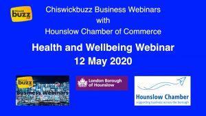 Webinar - Health and Wellbeing - 12 May 2020