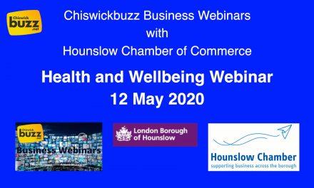 Webinar – Health and Wellbeing – 12 May 2020