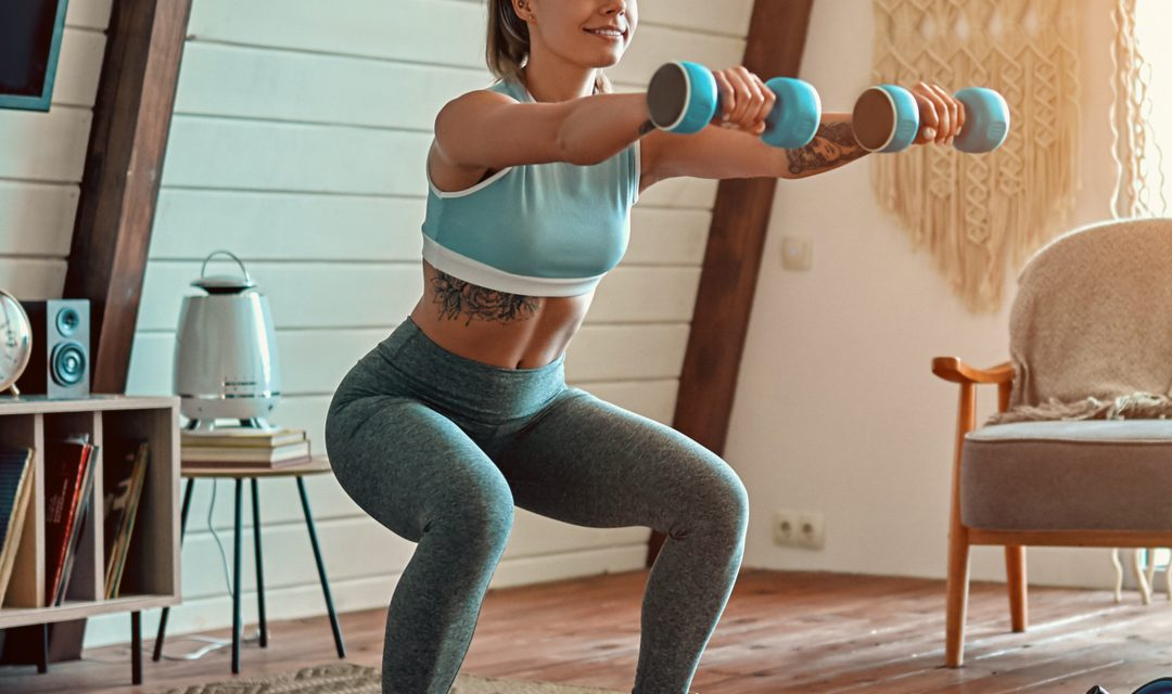 Home Workouts With Athina – Another Leg Workout!