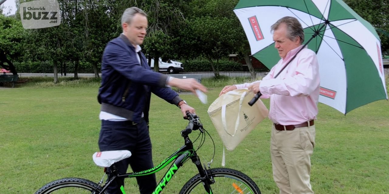Bedford Park Festival Bicycle Winner Announced!