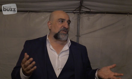 Omid Djalili at The Chiswick Festival