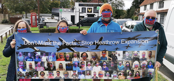 Don't Mask the Facts  – Campaign to Scrap Heathrow Expansion