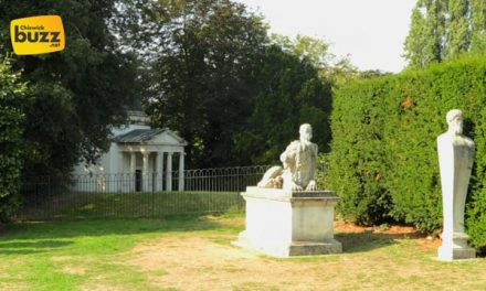 Sculptures at Chiswick House