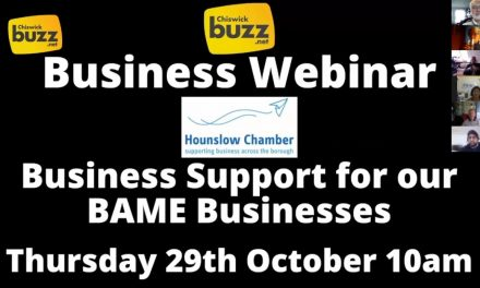 Business Webinar – Support For Our BAME Businesses