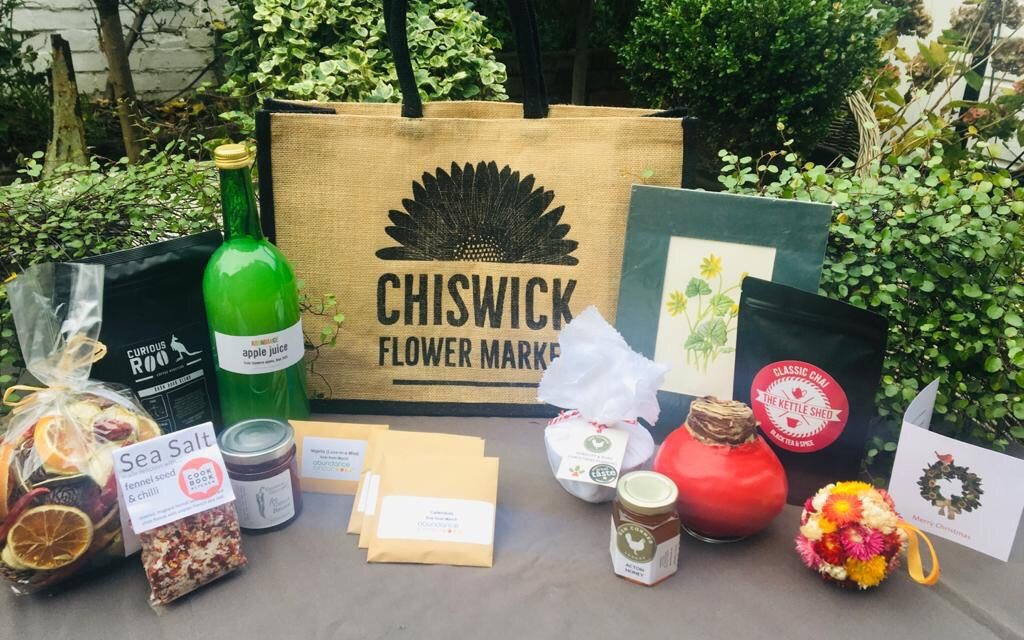 Chiswick Flower Market Does Christmas WithLimited Edition Gift Bag