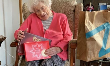 Age Concern Receives Surprise Christmas Gift from Ocado Zoom