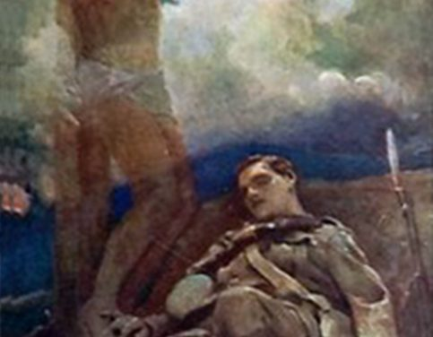 Church honours Chiswick artist as it puts Remembrance Sunday commemorations online