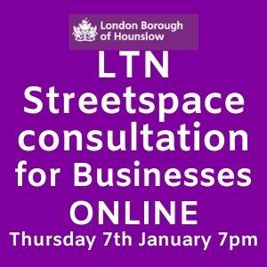 LTN Streetspace Cnsultation - Business