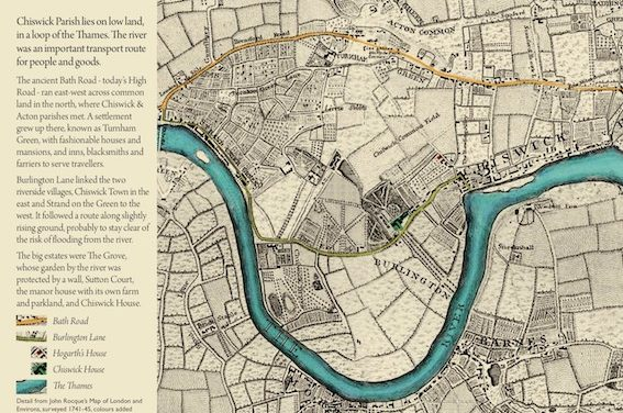 Culture groups launch campaign to explore Chiswick online and on foot